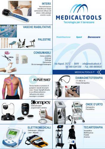 Società nel settore elettromedicale per fisioterapia, sport e benessere - Brochure riassuntiva