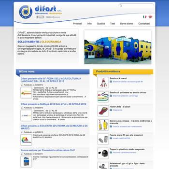 Difast - Sviluppo sito web