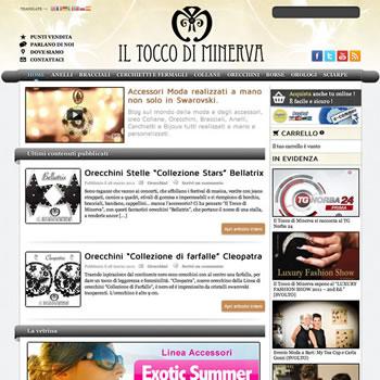 Il Tocco di Minerva - Sviluppo sito web