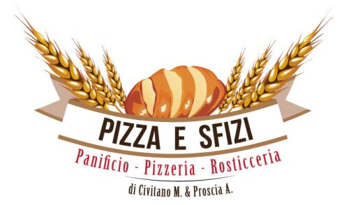 Pizza e Sfizi - Logo design