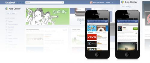 Facebook App Center, lo store del Social in Blu