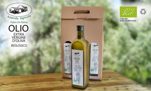 Azienda Agricola De Palma - ADV pubblicitario per Blister olio