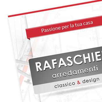 Negozio arredamento RA - Realizzazione Brochure