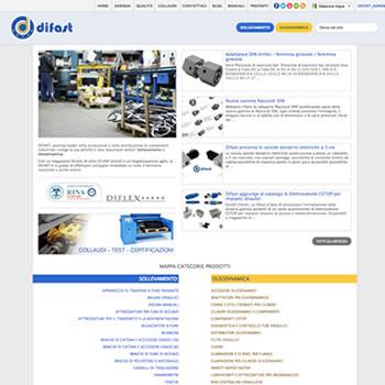 Difast v.2 - Sviluppo sito web