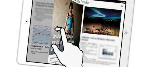 Come leggere al meglio le news su iPad in stile rivista