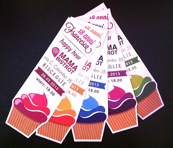 Molto Inviti compleanno 18 anni - Graphic design - Flyer - Tu Comunica YC32