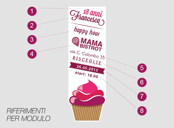 Populaire Inviti compleanno 18 anni - Graphic design - Flyer - Tu Comunica KB64