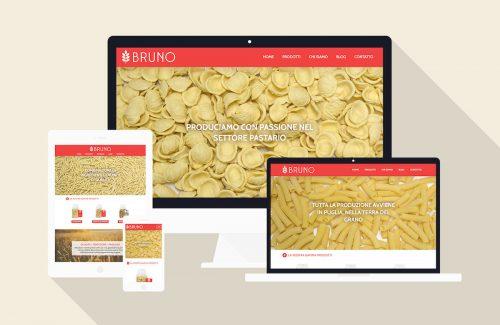 Pastificio Pugliese - Sviluppo sito web