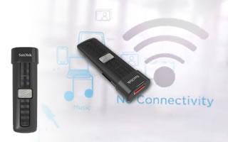 SanDisk Connect - la chiavetta USB con wifi e batteria anche via iOS e Android