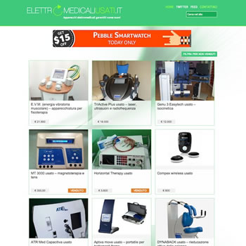 Elettromedicali Usati v.2 – Sviluppo sito web