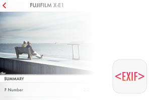 Exif Monster - iPhone app per vedere i metadata delle foto