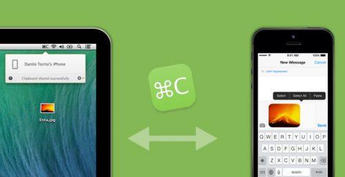 Command-C, il copia e incolla definitivo tra iOS e Mac
