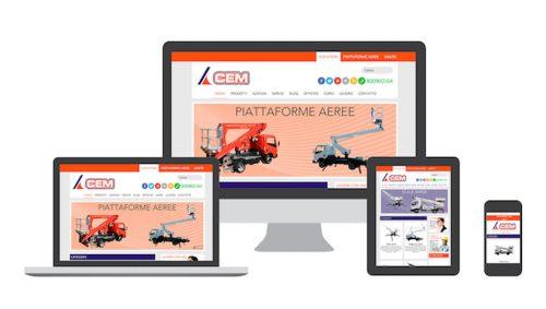 Azienda Milanese nel settore del lavoro aereo - Sviluppo sito web (Network)