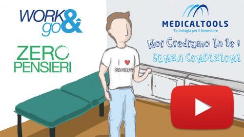 Realizzazione video promozionale per una società nel settore elettromedicale e fisioterapia