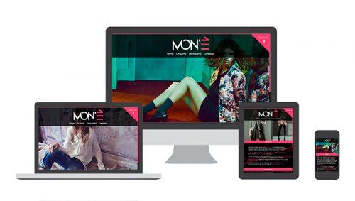 Boutique abbigliamento – Sviluppo sito web (Landing page responsive)