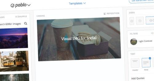 Creare rapidamente immagini per social con testo e sfondo tramite web app