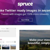 Spruce - crea le tue immagini con testo in una manciata di secondi, direttamente da web