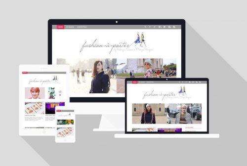 Fashion Blog - Sviluppo sito web responsive