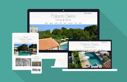 Boutique Hotel in Puglia - Sviluppo sito web responsive