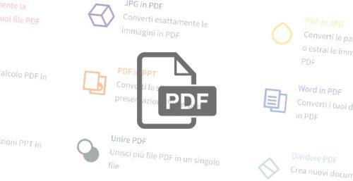 SMALLPDF - il coltellino svizzero dei PDF tutto online
