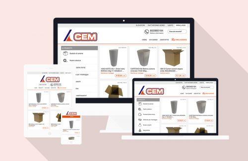 Azienda Milanese nel settore Imballaggi – Sviluppo sito web