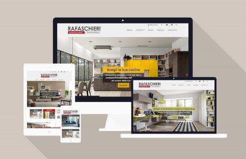 Negozio arredamento RA - Sviluppo sito web