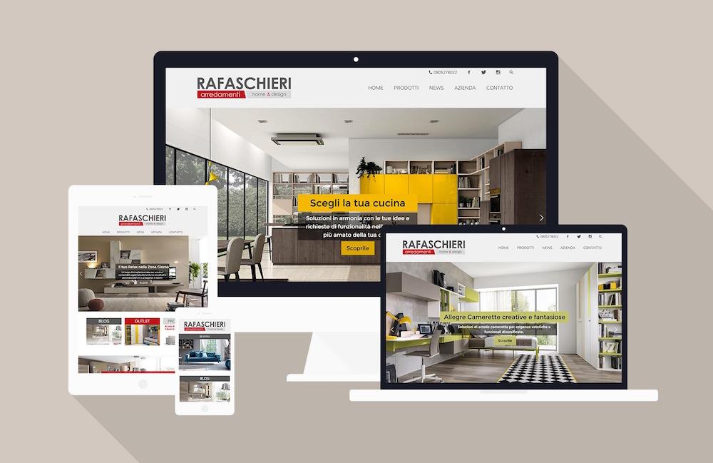 Negozio arredamento a bari sviluppo sito web tu comunica for Web arredamento