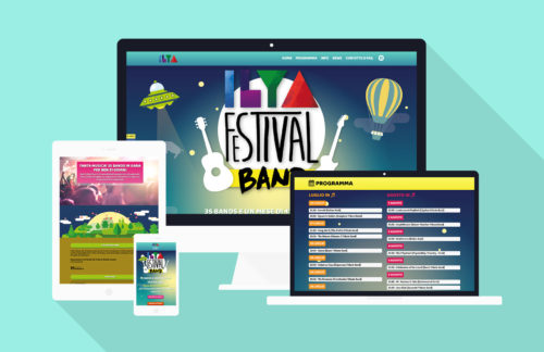 Music Festival Band - Sviluppo sito web
